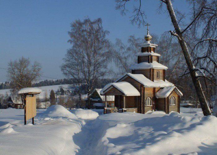 Храм Успения Божией Матери. село Тыловай. Удмуртия