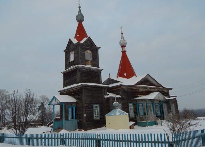 Храм Сретения Господня. село Большая Чепца. Удмуртия